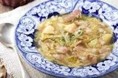 Вкусные рецепты: Суп с фасолью по-молдавски, торт нежность, Рулет ассорти на творожном тесте