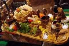 """Вкусные рецепты: рулетик """"отгадайка"""", Коктейль""""банановое солнце"""", Помидоры по-армянски(возможно вариант)."""